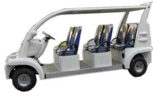 รถกอล์ฟ ไฟฟ้า premium 6 ที่นั่ง